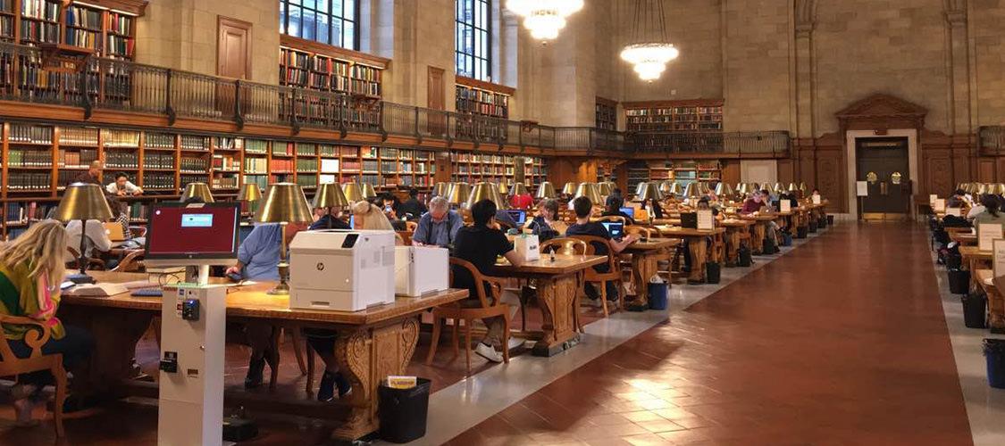 美國紐約 - 公共圖書館(New York Public Library)