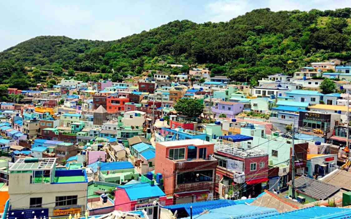 韓國釜山 - 甘川洞文化村(Gamcheon Culture Village)